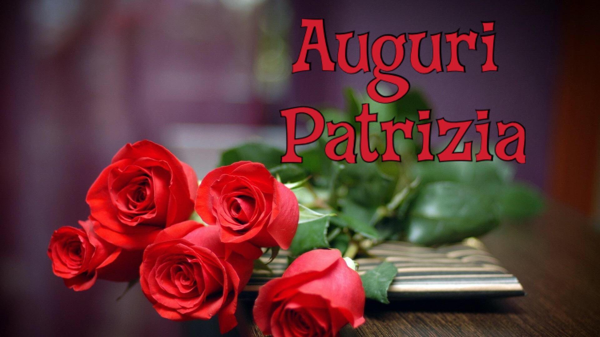 Auguri Patrizia | Bouquet di rose rosse, Mazzo di fiori, Rose