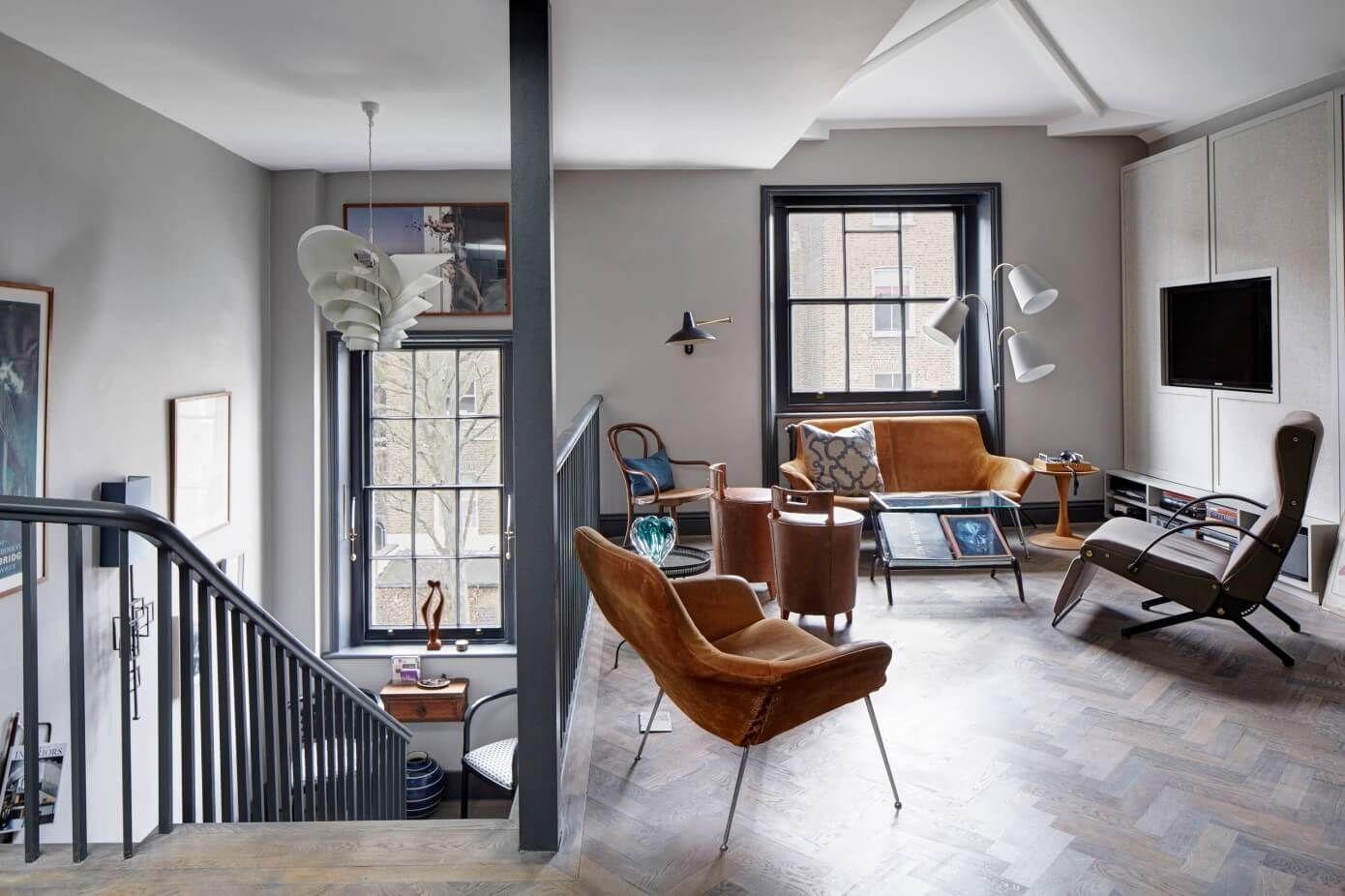 London Loft Apartment By Sigmar Interior Design Examples