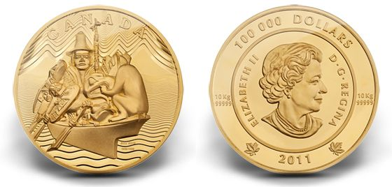 10KG of Pure Perfection. The World's First 10-kg 99.999% Pure Gold Coin.