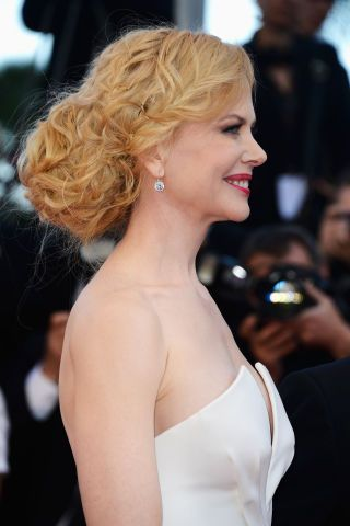 Nicole Kidman. A perfectly coiled and braided (and giant) chignon to trump all chignons.