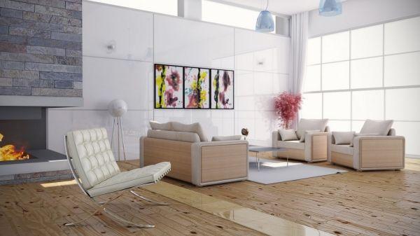 Wohnzimmer Einrichtung Trends \u2013moderner Komfort und zeitlose