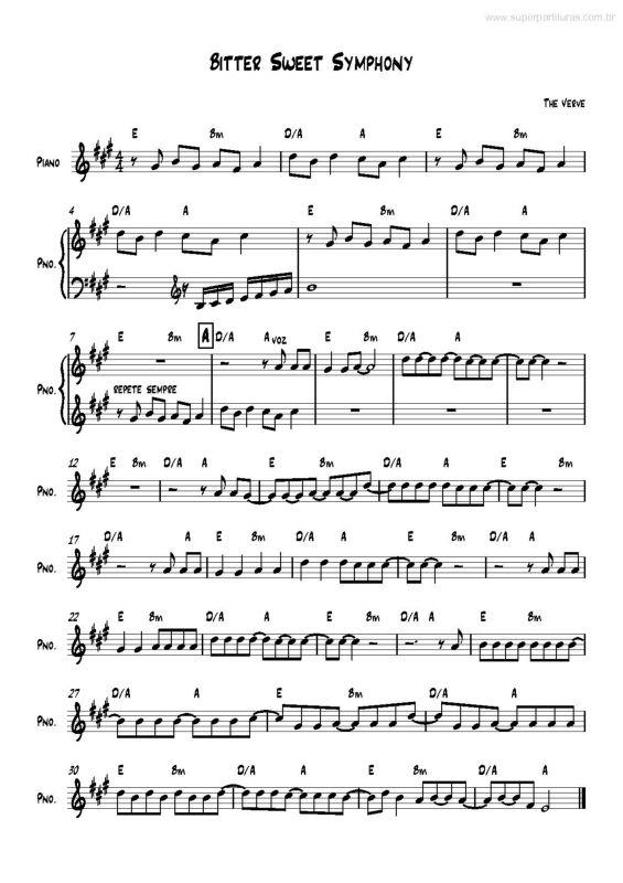 THE BAIXAR - SYMPHONY VERVE MUSICA BITTERSWEET