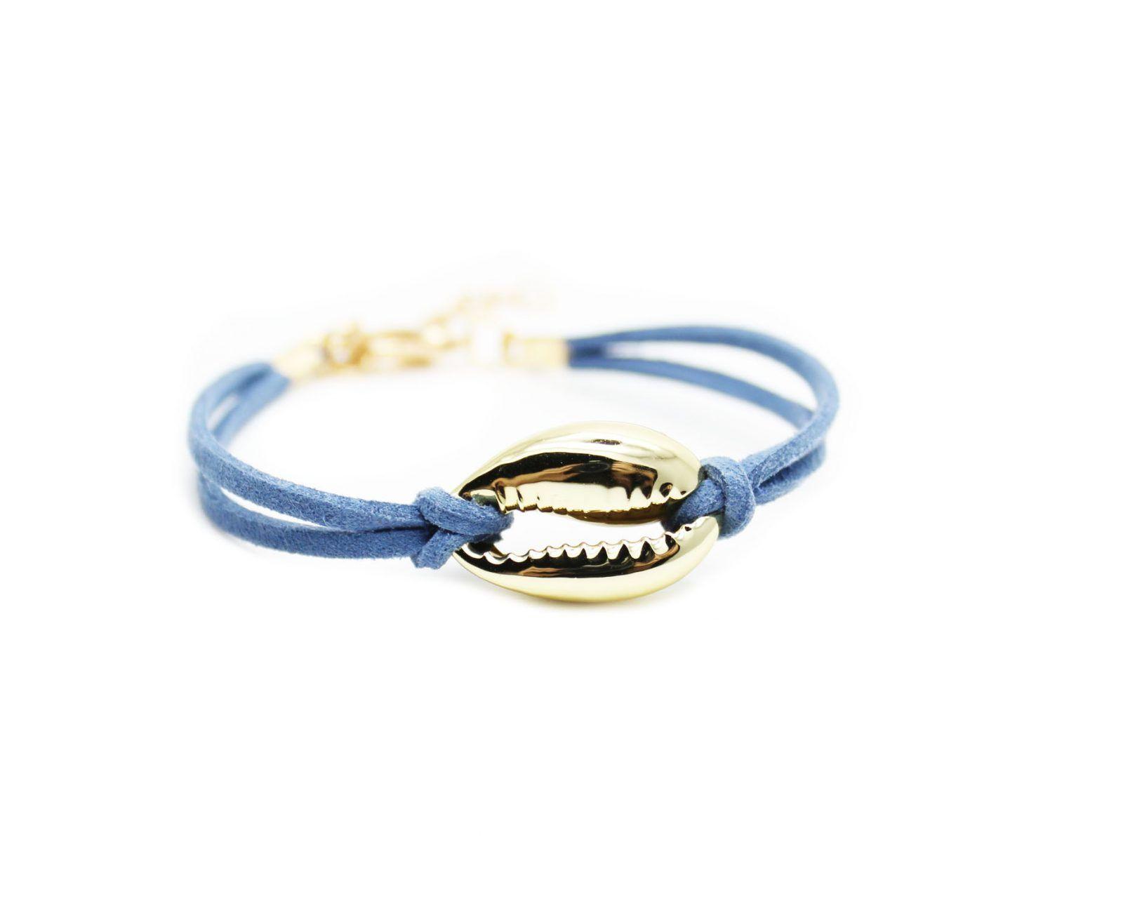 bracelet femme cuir bleu bijoux fantaisie pas cher. Black Bedroom Furniture Sets. Home Design Ideas