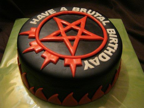Arch Enemy Have A Brutal Birthday Cake Arch Enemy Khaos