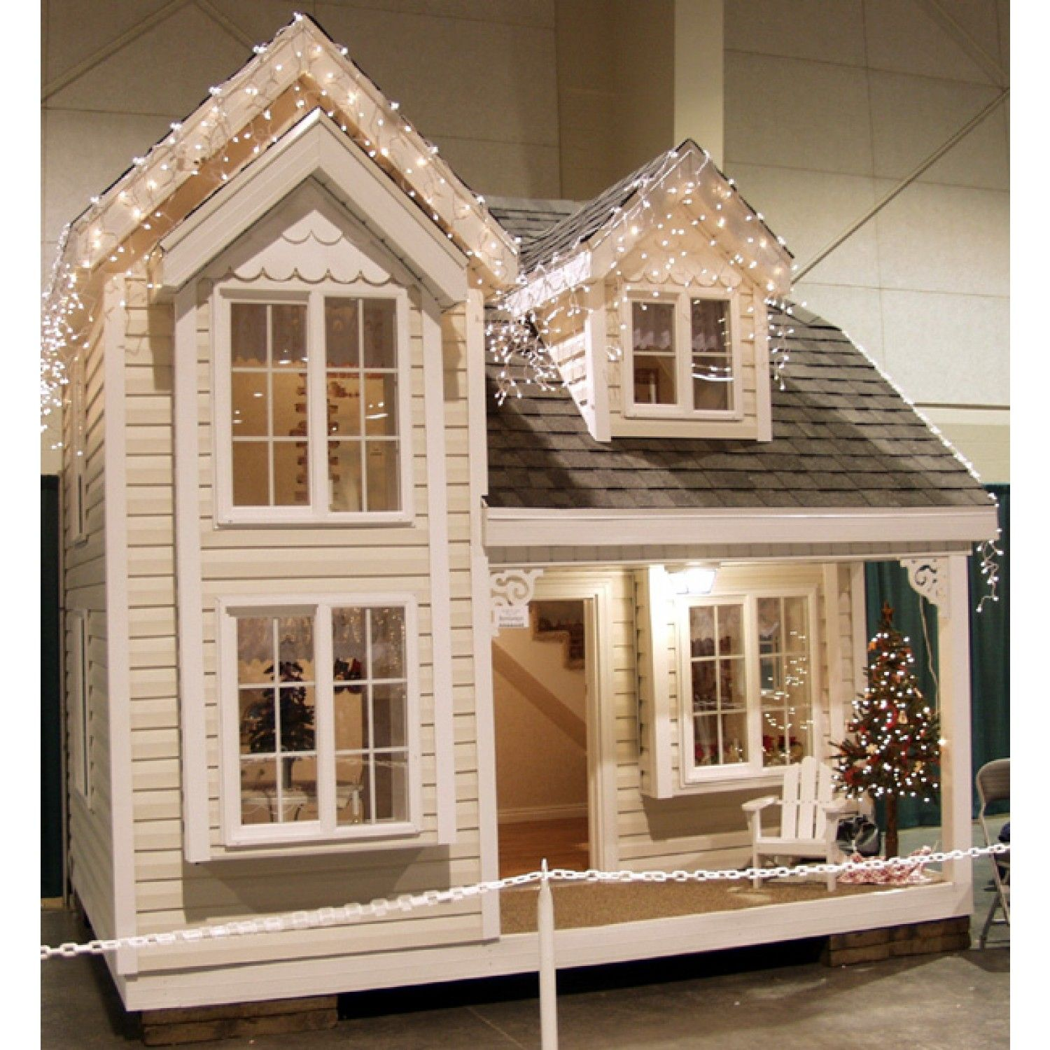 Cottage playhouse Front View | Baby | Pinterest ...