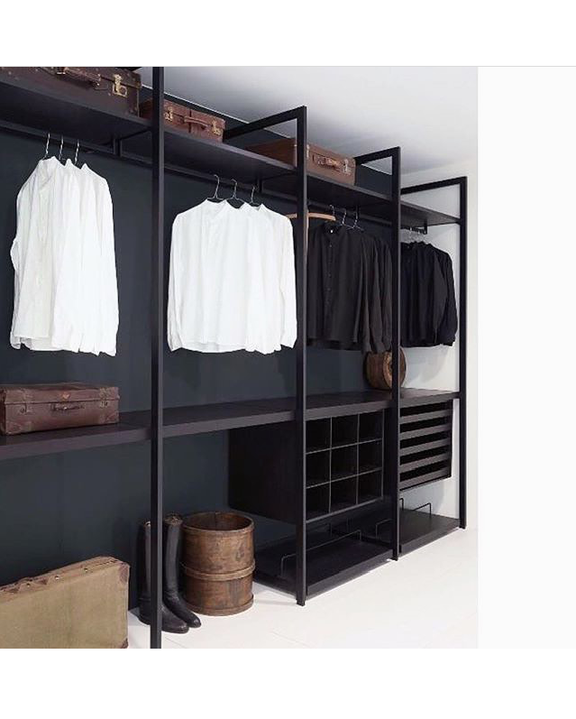 Dark Open Concept Wardrobe Closet Designs Closet Design Home