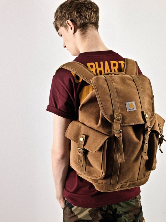 Brown  Backpack by Carhartt