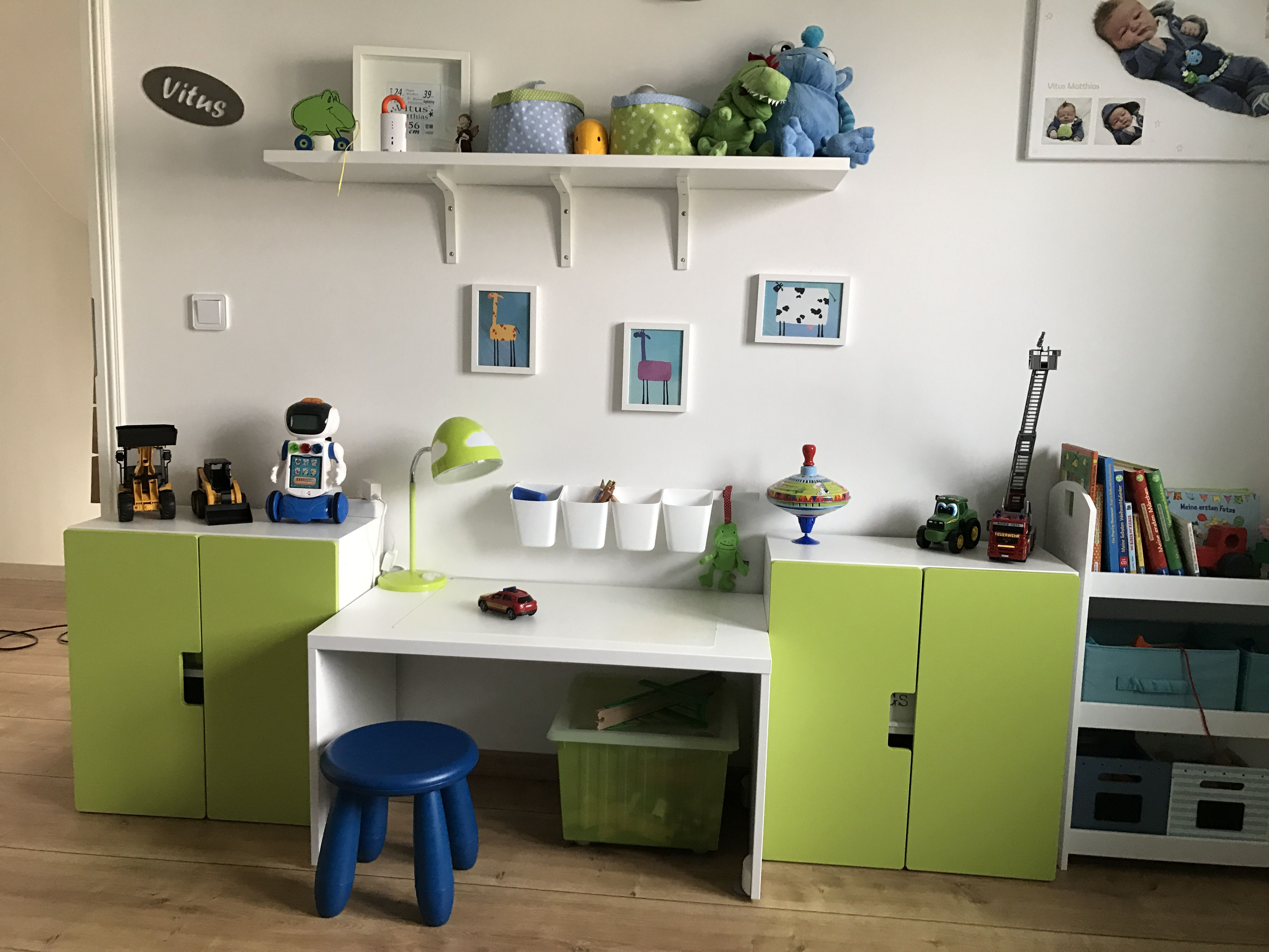 Boys working place IKEA Stuva Kinderzimmer junge, Kinder
