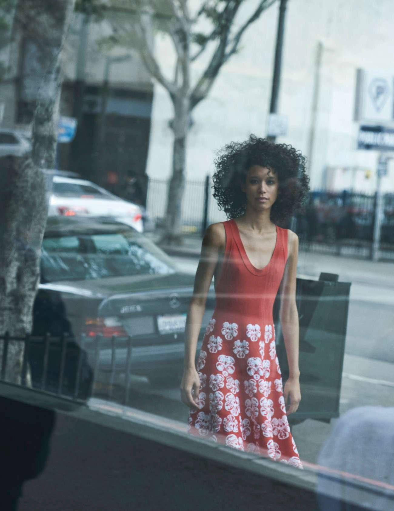 Dilone by Peter Lindbergh for Elle France December 2016