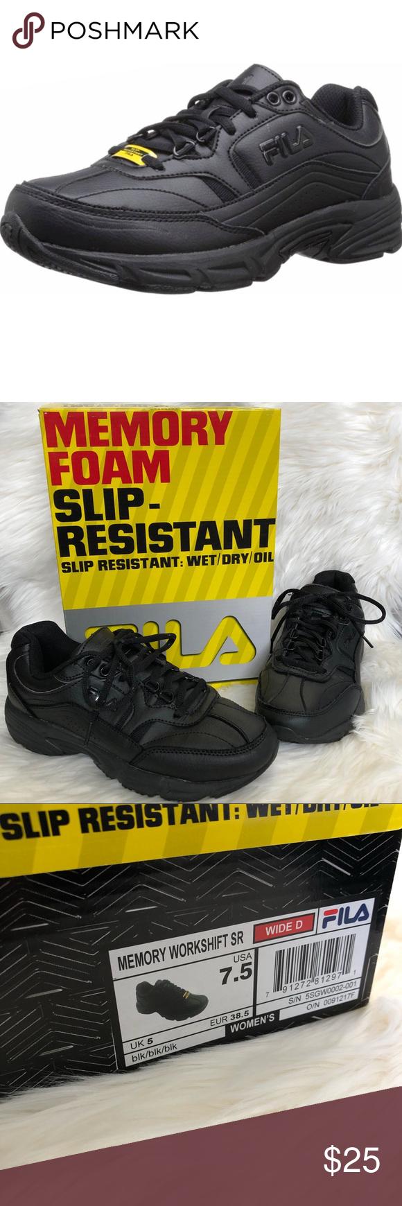 a3c03294 Fila Women's Memory Slip Resistant Work Shoe Fila Women's Memory ...