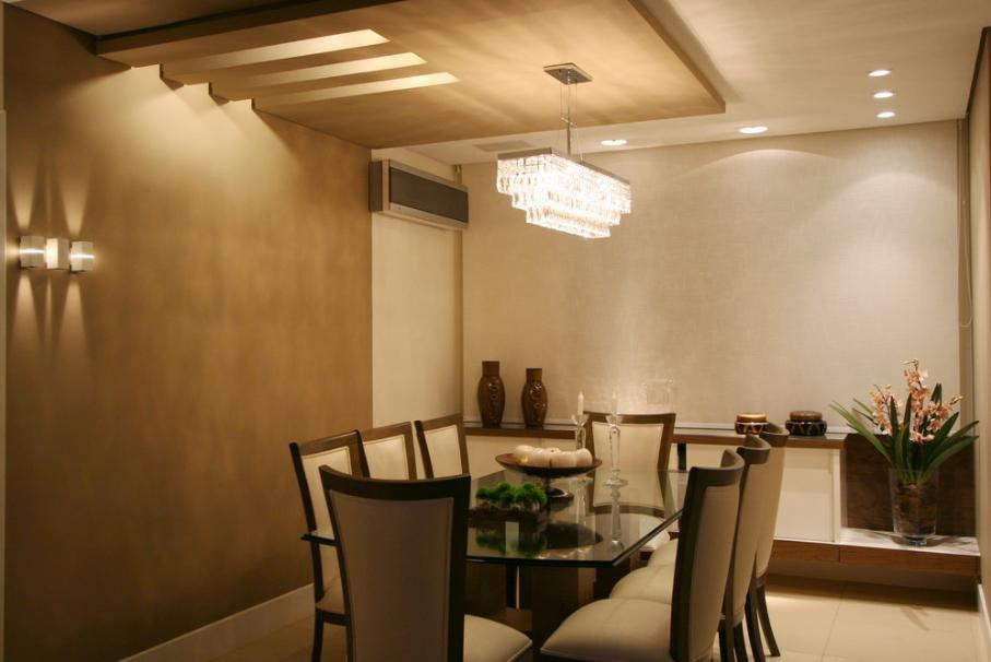 Sala de jantar pequena com lustre pendente pesquisa for Lustres para sala de estar