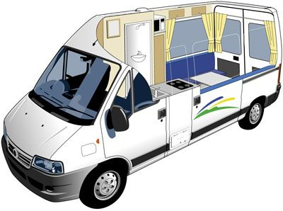 fiat ducato motorhome acampada pinterest. Black Bedroom Furniture Sets. Home Design Ideas