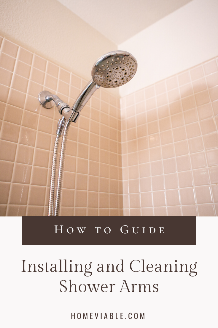 The Complete Guide To Removing And Installing A New Shower Arm In 2020 With Images Shower Arm All Natural Cleaning Products Natural Cleaning Products