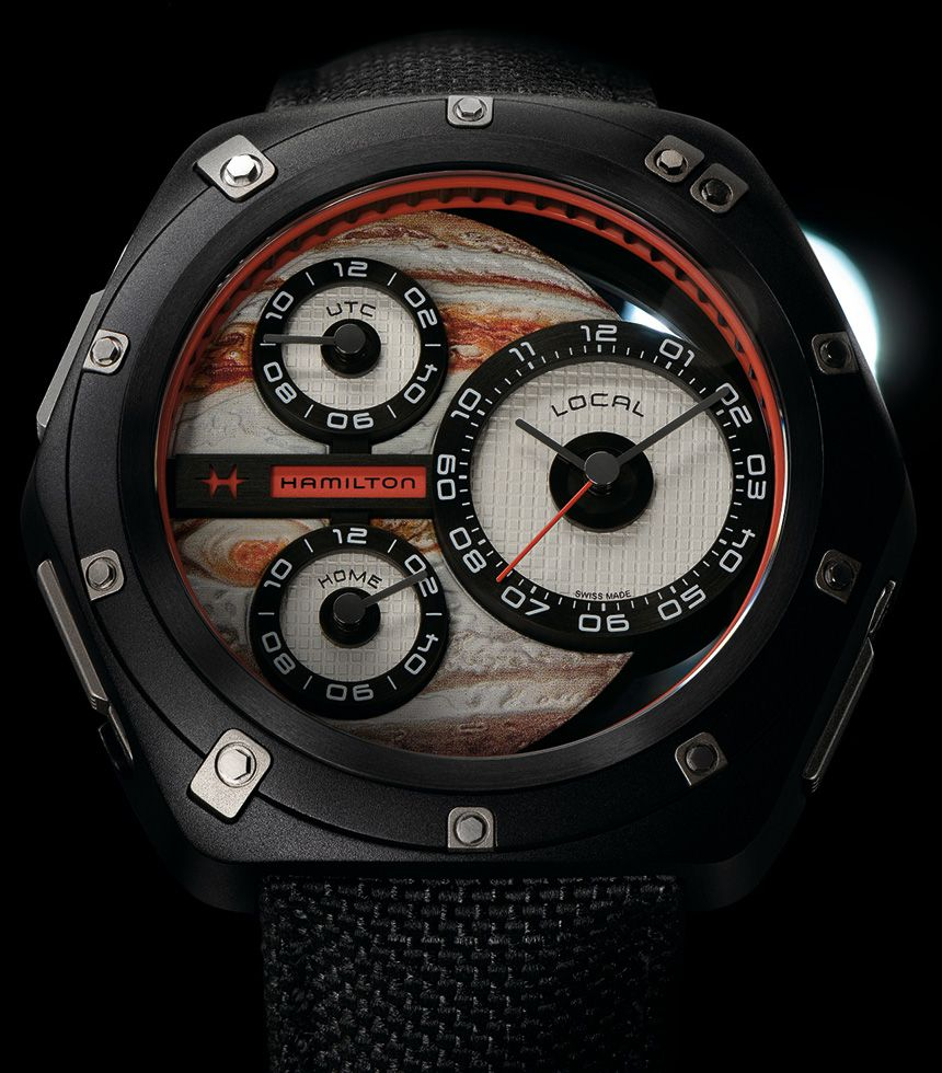 Hamilton ODC X-03 Watch Pays Tribute To 'Interstellar' & '2001: A Space Odyssey' Movies Watch Releases