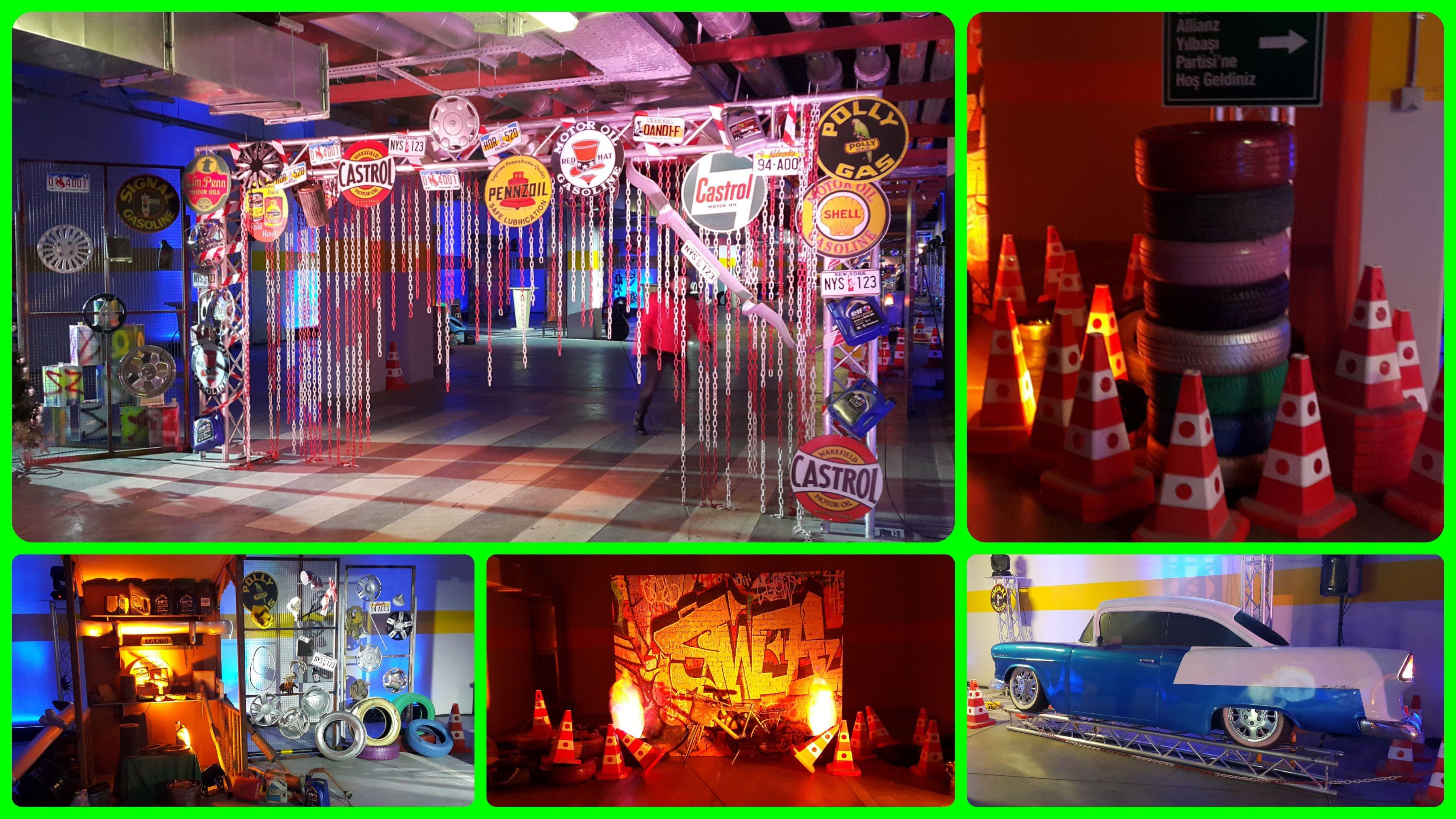 Garage Themed Party ( Allianz )