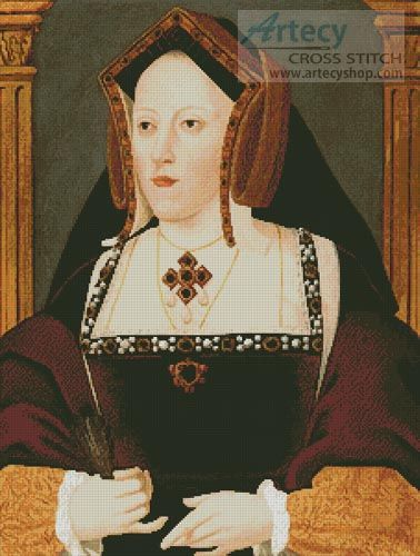 TUDOR KINGS /& QUEENS CATHERINE PARR CROSS STITCH CHART