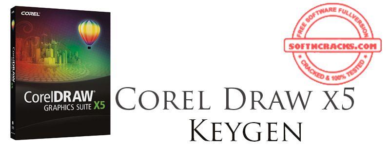 corel draw x5 serial key crack