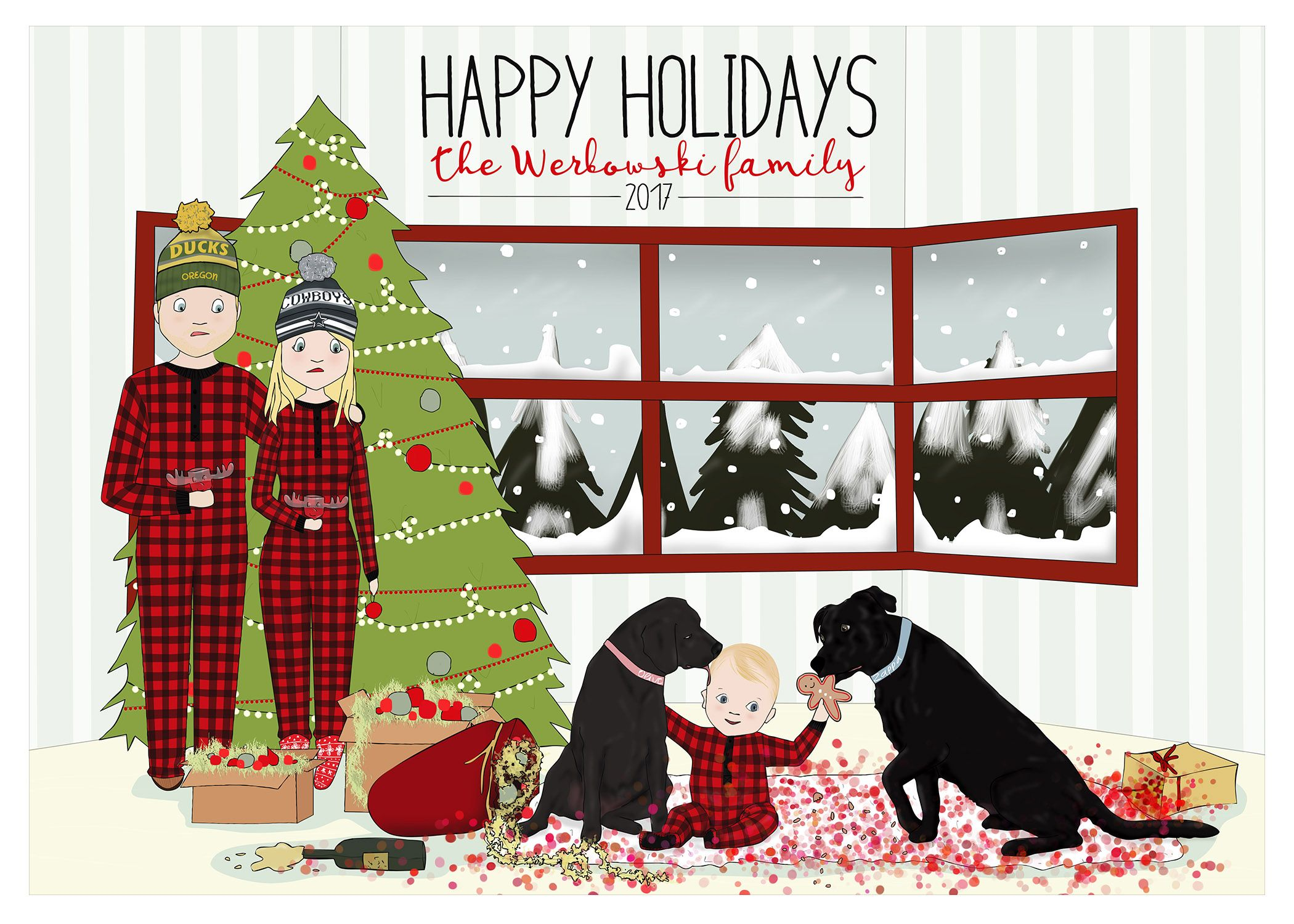 Personalized Christmas Cards | <3 Etsy Love! <3 Etsy Group Board Pin ...