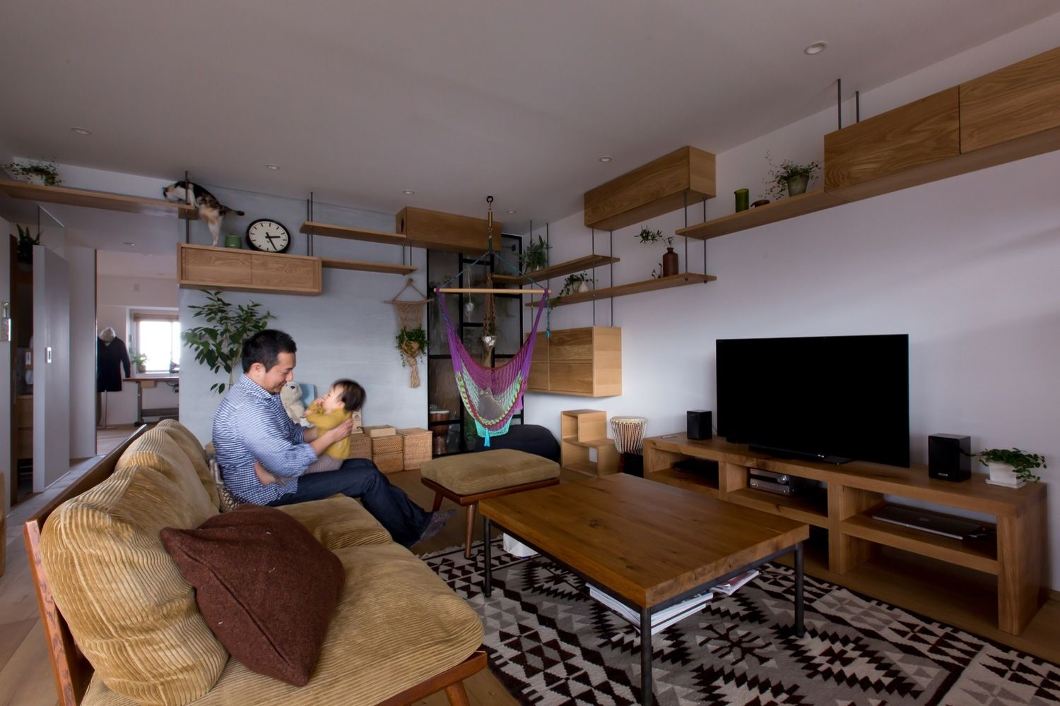 Uncategorized Cat Walkway In House gallery of nionohama apartment house renovation alts design office 4