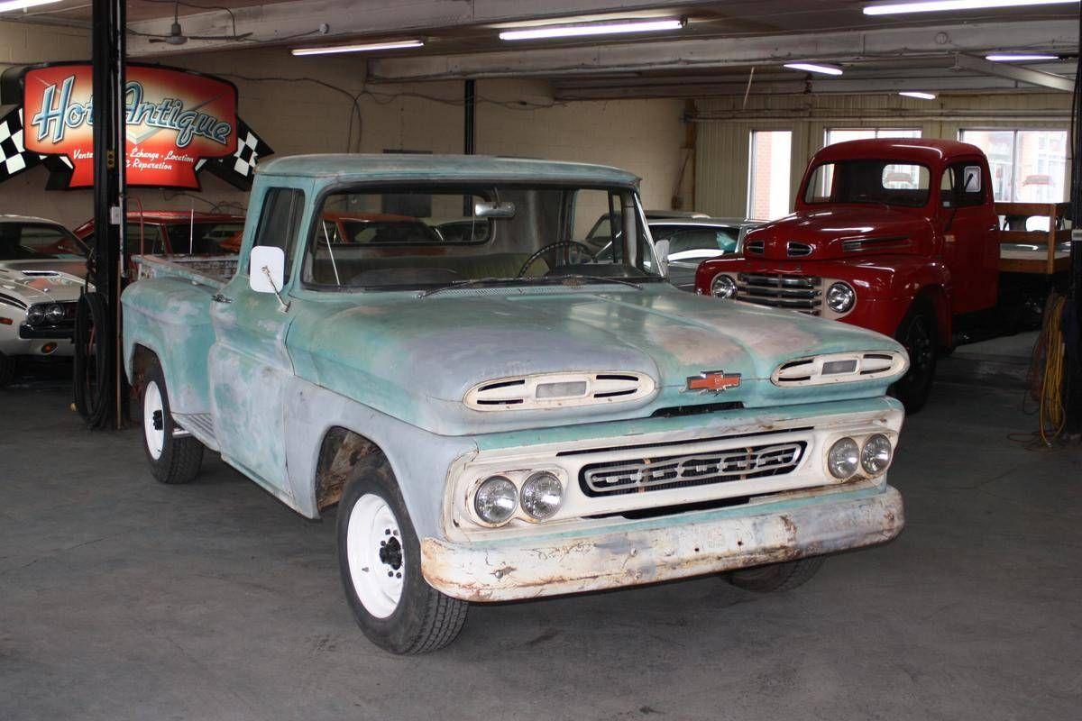 1961 Chevrolet Apache For Sale 2085097 Hemmings Motor News Chevrolet Vintage Chevy Trucks Chevrolet Apache