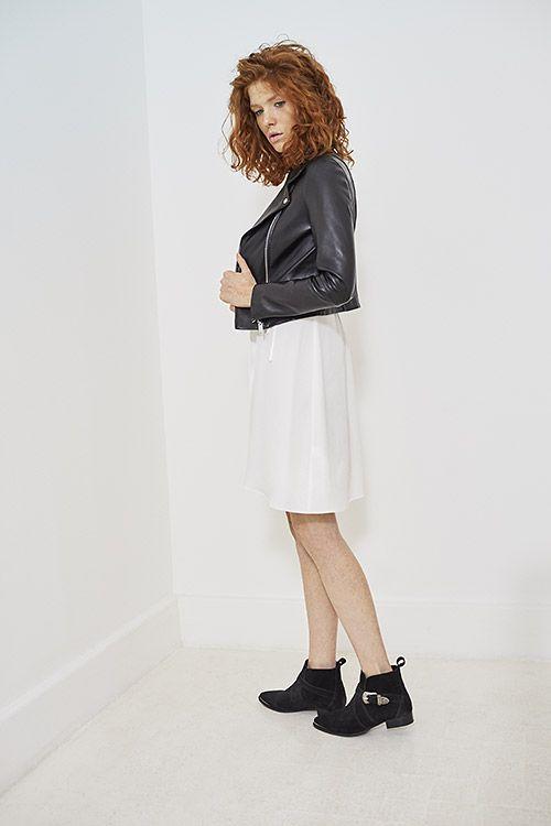 Robe blanche ikks femme