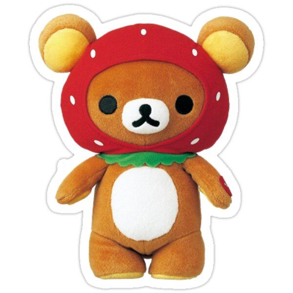 Decorate laptops, Hydro Flasks, cars and more with removable kiss-cut, vinyl decal stickers. Glossy, matte, and transparent options in various sizes. Super durable and water-resistant. strawberry rilakkuma plush is the best