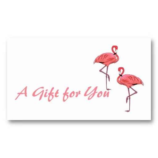 Pink Flamingo Gift Tags Template Box Of  Sold From My