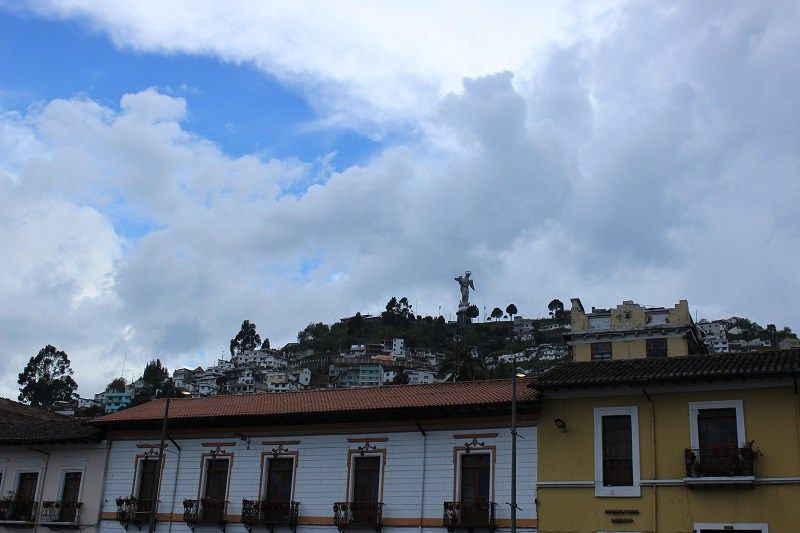 Quito City Guide - Blick auf El Panecillo.