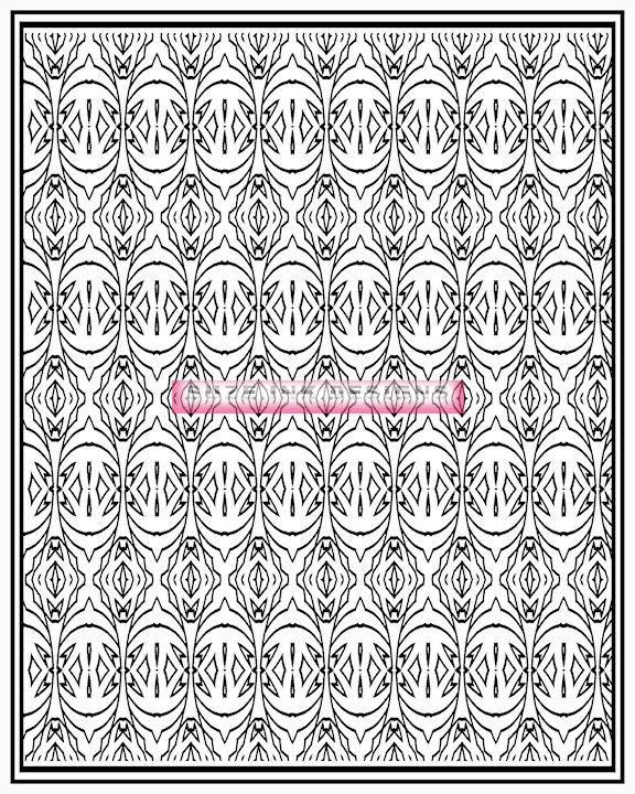 Patterns To Color Volume 2 Is The Second Edition Of My Series Printable Adult Coloring Books There Are 25 Pages 8 1 X 11 Inches In Each Book