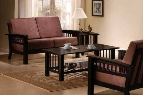 Sofa gỗ thiết kế với gam màu trầm. Bàn ghế sofa gỗ sử dụng chất liệu gỗ sồi, gỗ xoan đào. Ghế sofa gỗ đẹp http://soloha.vn/sofa-go.html