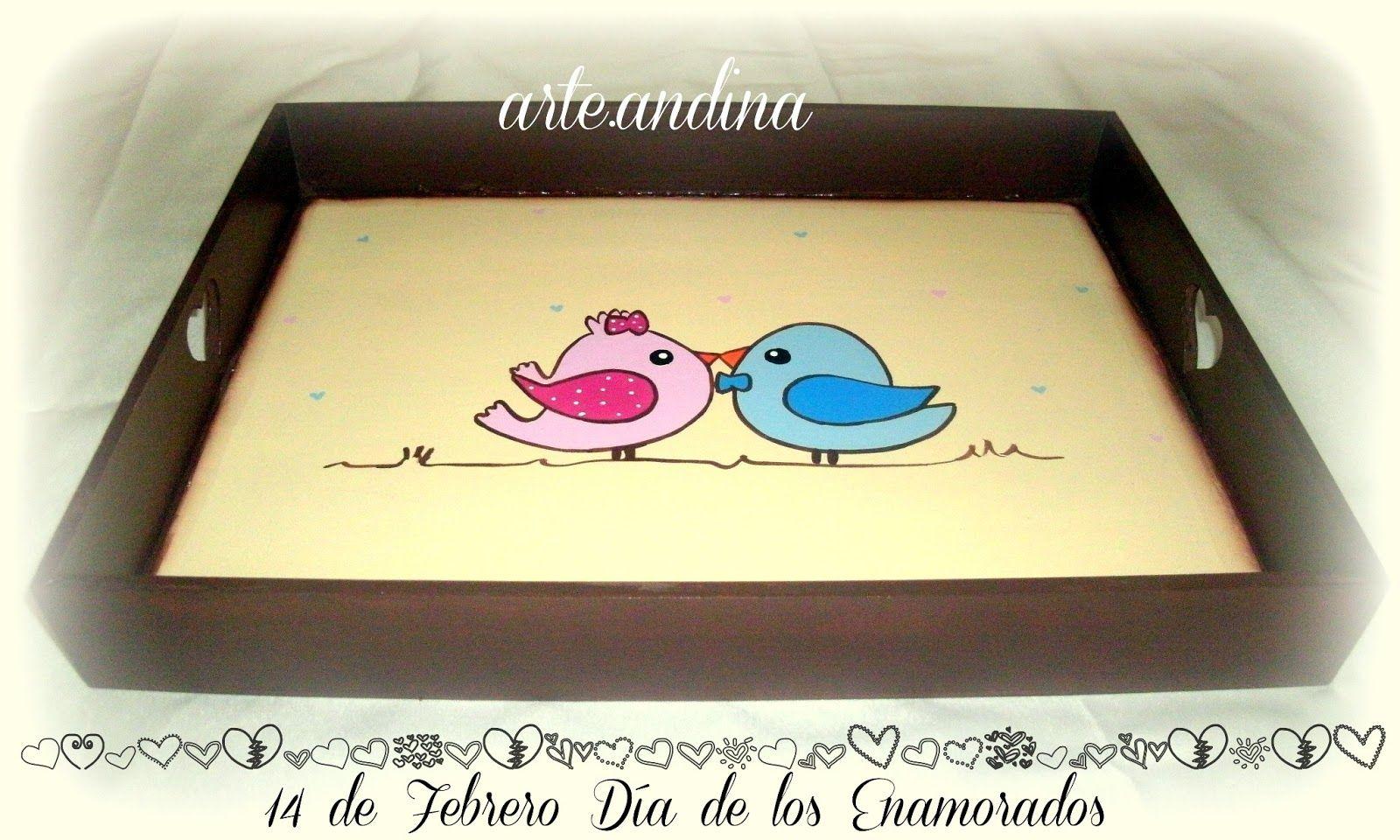 Dibujos Para Pintar Bandejas De Madera San Valentín Bandejas De
