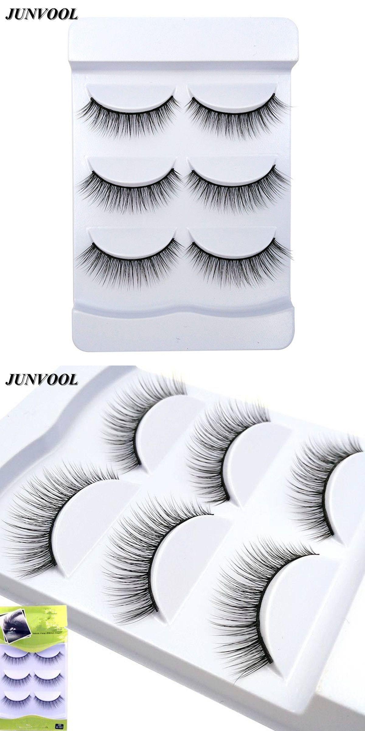8848eaa5433 3D Mink Lashes 3 Pairs False Eyelashes Natural Makeup Fake Eye Lash Eyelash  Extension Make Up