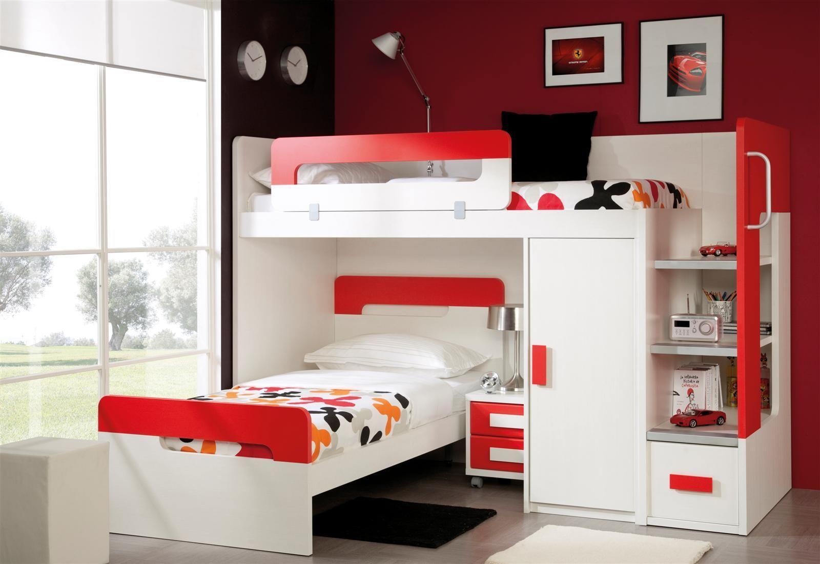 El mejor mobiliario para habitaciones infantiles y - Habitaciones juveniles modernas ...