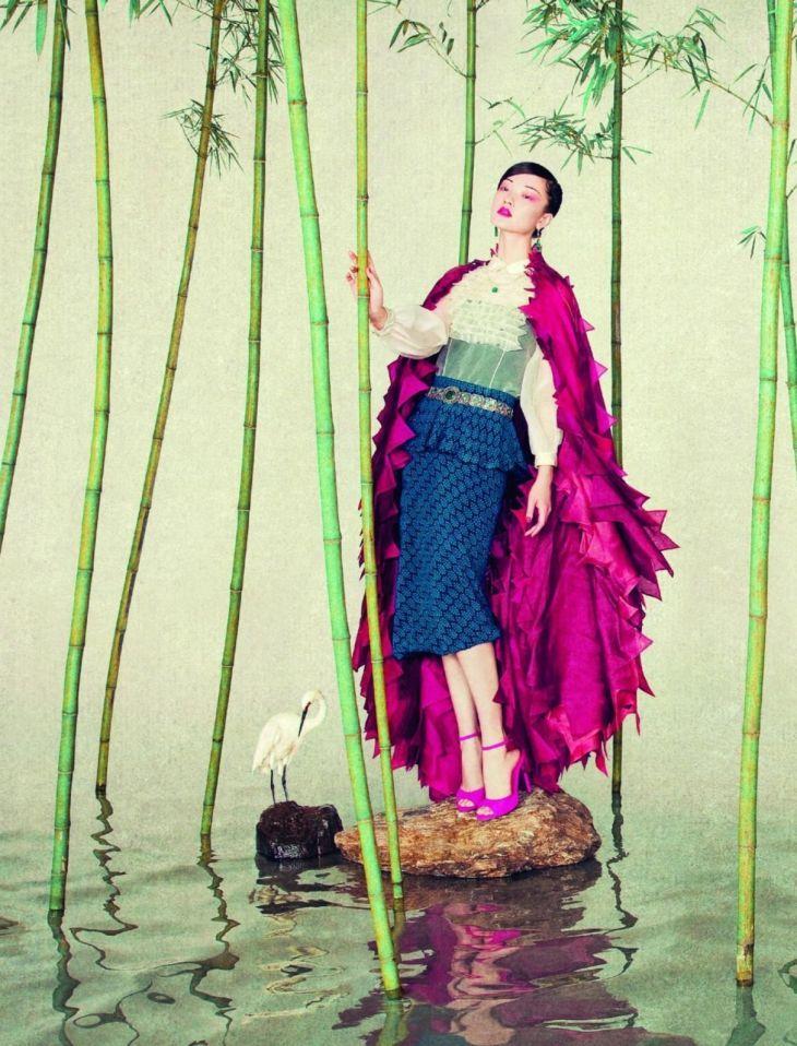 Du Juan for L�Officiel China September 2011 by Sun Jun