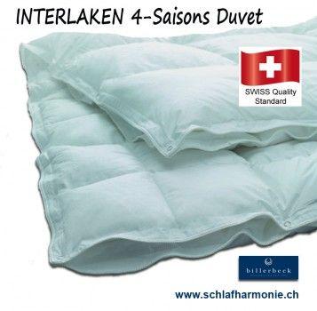 Interlaken 90 Swiss Made 4 Jahreszeiten Bettdecke Von Billerbeck