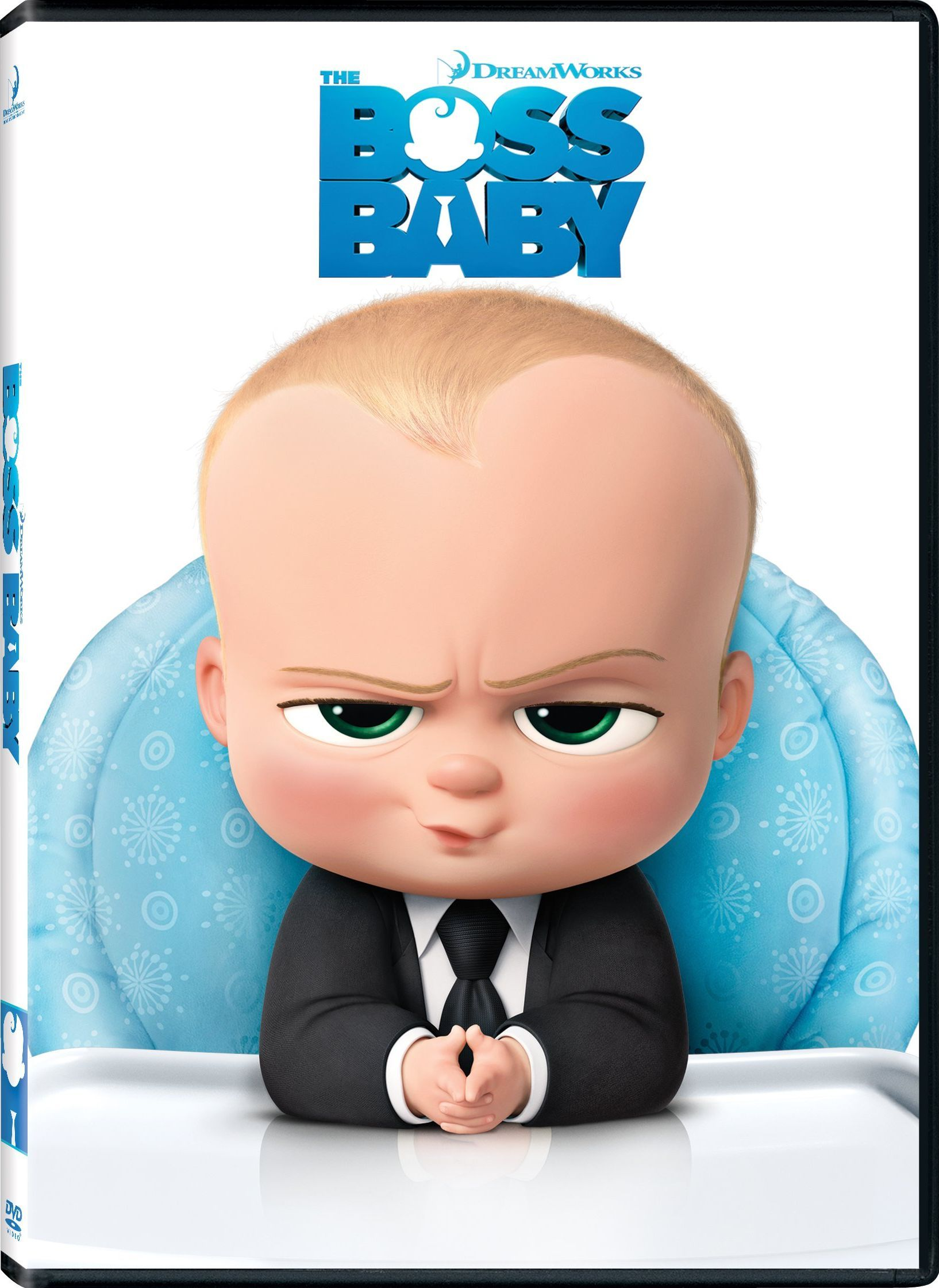 The Boss Baby Dvd Dhd Baby Movie Boss Baby Baby Posters