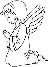 Resultado De Imagen Para Angel Silueta Para Colorear