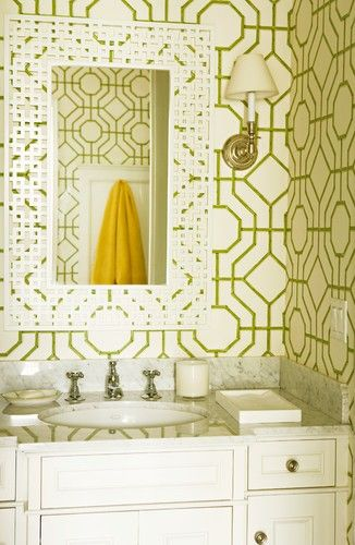 Brentwood Regency State - eclectic - powder room - los angeles - by ...