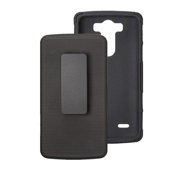new product 8892e 7e3ce Hybrid Armor Slide Belt PC Back Cover Case For LG G3 Mini LG G3 ...