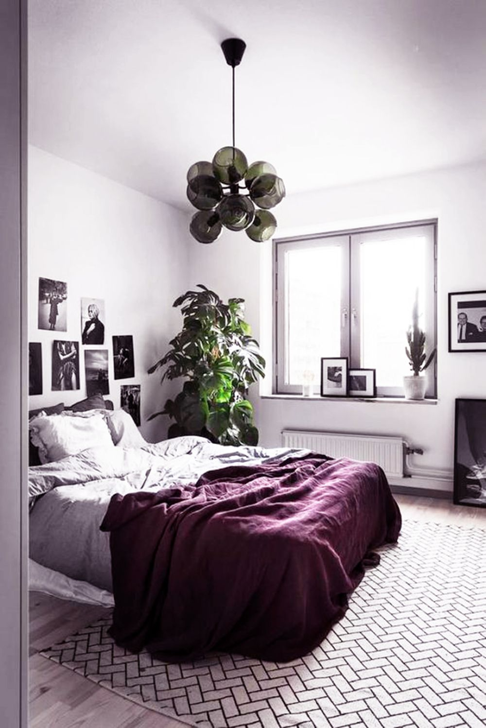 Color inspiration: Ultra Violet | Apartment decor | Pinterest ... on master bedroom with dark furniture, dark cherry wood furniture, espresso color furniture, bedroom design ideas, refurbished wood furniture, bedroom dressers with mirrors, dark wood floor living room furniture, solid cherry wood furniture, bedroom dresser top decor, espresso dressers furniture, dark chocolate furniture, brown leather living room furniture,
