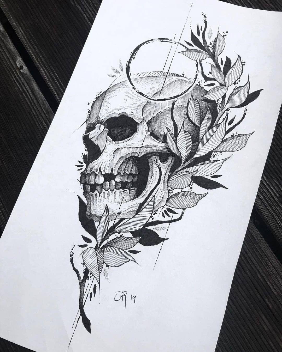 By Jakobxtattoos Sketching Sketchtattoo Tattoo Tattooart Tattoodesign In 2020 Skull Tattoo Design Tattoos Sleeve Tattoos