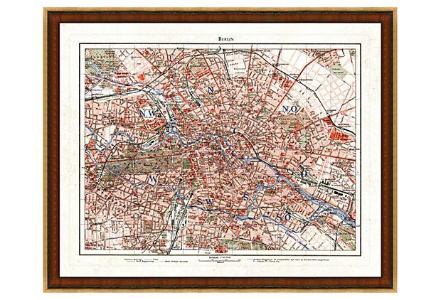 Berlin Map on OneKingsLane.com