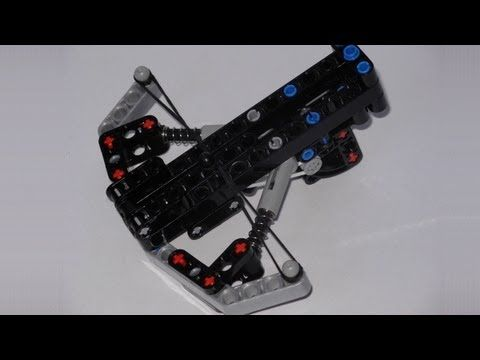 Lego Technic Catapult With Easy Build Instructions Youtube