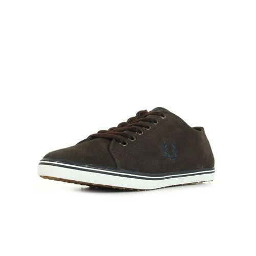 Fred Perry Kingston Suede Dark Chocolate Réf : B7448325