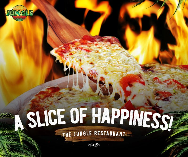 Experience happiness in every bite! For reservations, call