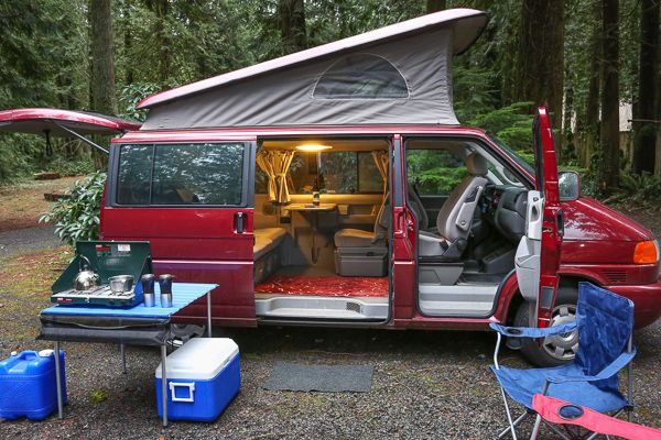 Meet The Fleet Campervan Rental Camping World Rv Sales Vw Eurovan