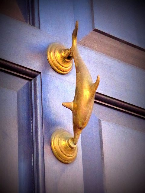 Fells Point knocker by Star Cat, via Flickr