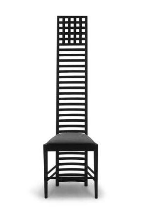 Chair by Charles Rennie Mackintosh, 1903