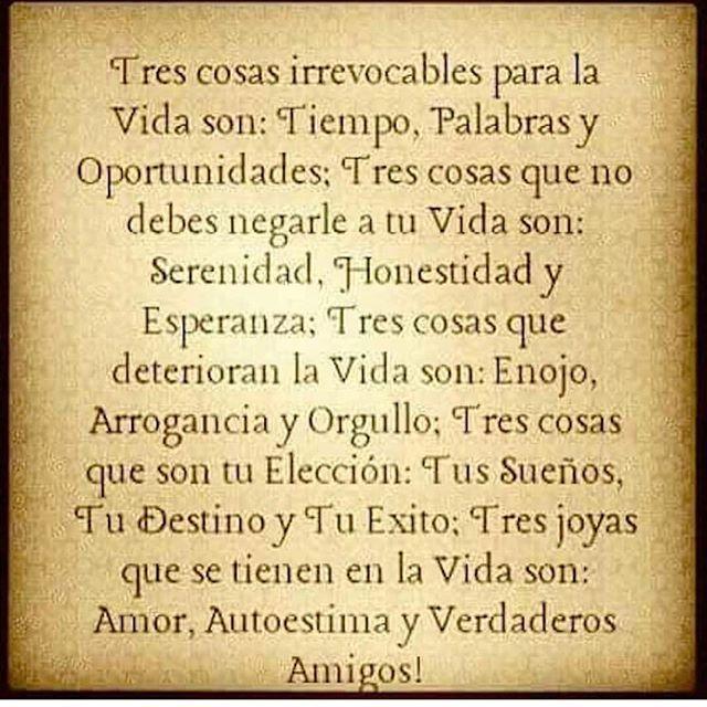 Sabiduría de vida ❤️✌️✨