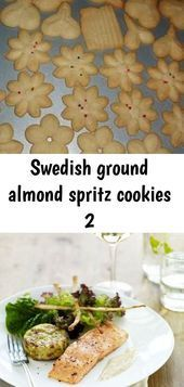 Swedish ground almond spritz cookies 2 #mazedonischesessen This is an authentic ... #mazedonischesessen Swedish ground almond spritz cookies 2 #mazedonischesessen This is an authentic ... , Swedish ground almond spritz cookies 2 #mazedonischesessen This is an authentic Swedish Almond Spritz recipe handed down through the family from Swedi... #mazedonischesessen